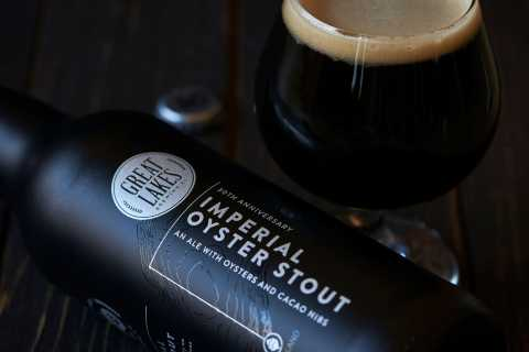 Imperial Oyster Stout close up