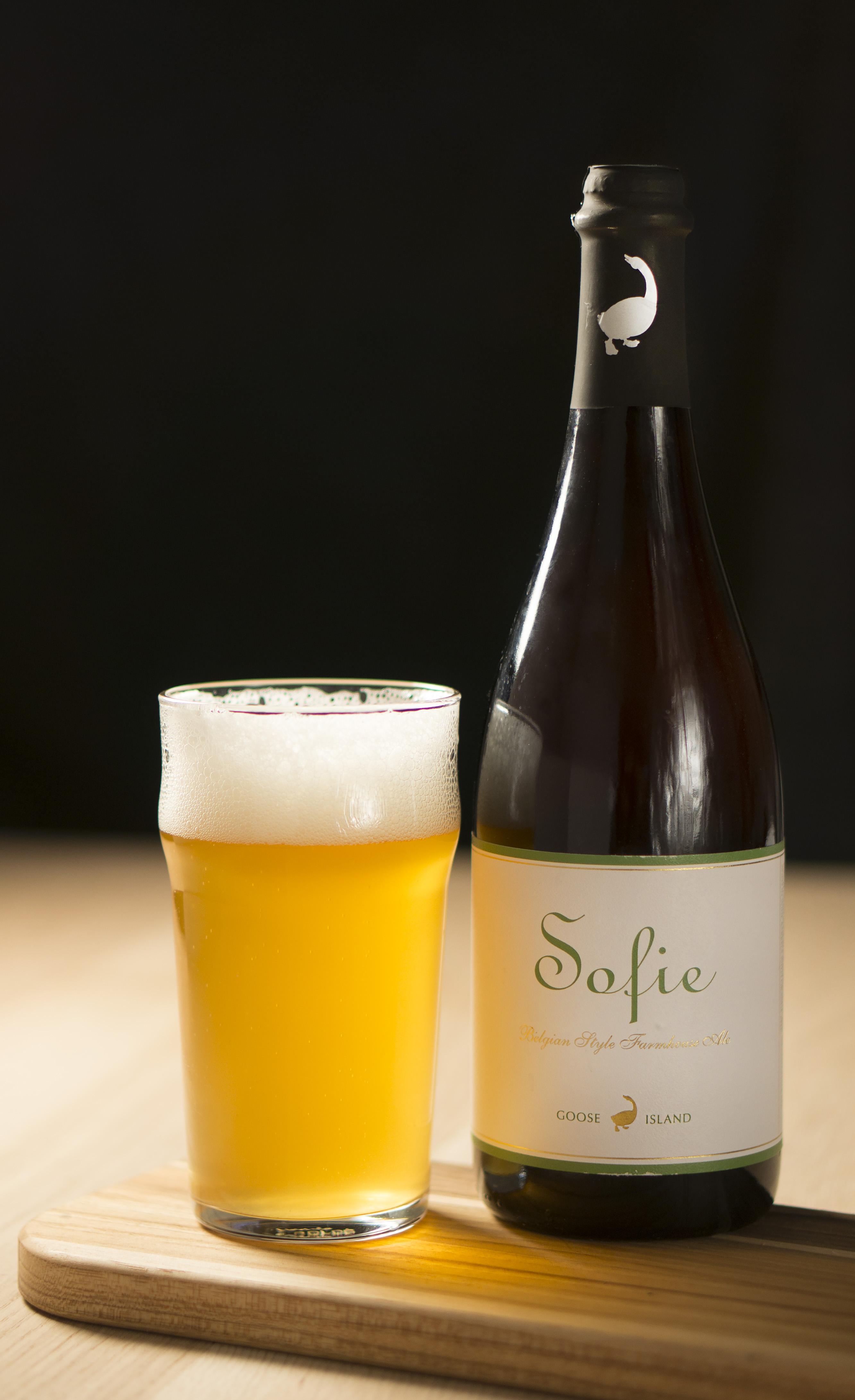 Sofie beer bottle