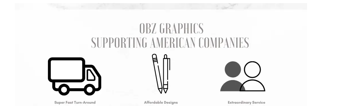 OBZ Graphics is proud to provide graphic design, custom apparel, andcustom yard greetings for your family, friends or coworkers