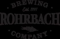 Rohrbach Brewing logo - black