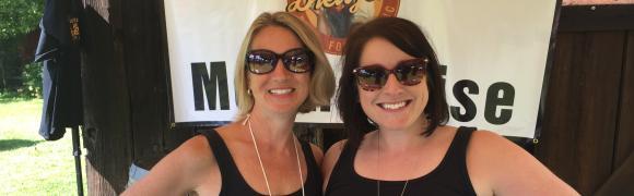 HOF Members Volunteer at Odessa Brewfest