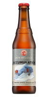 New Belgium, brewing a white IPA is not only a way to salute the white snowfall