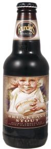 Breakfast Stout beer bottle