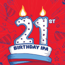 21st Birthday IPA