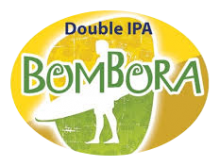 Bottle logo of Bombora Double IPA