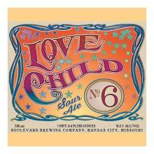 Love Child No. 6 beer label