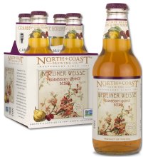 four pack of bottles of Cranberry-Quice