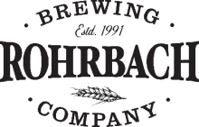 Rohrbach Brewing logo - black