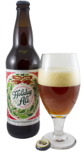 Two Roads Holiday Ale is the perfect meal-time beer.
