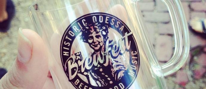 Odessa Brewfest Tasting Mug