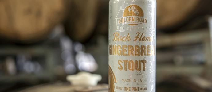 Back Home Gingerbread stout has a spicy, dry finish
