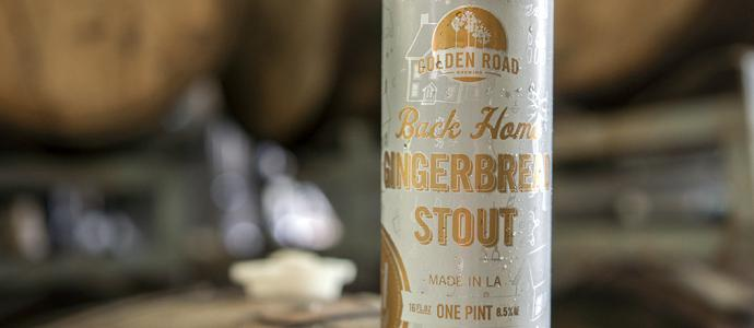 Golden Road Gingerbread Stout