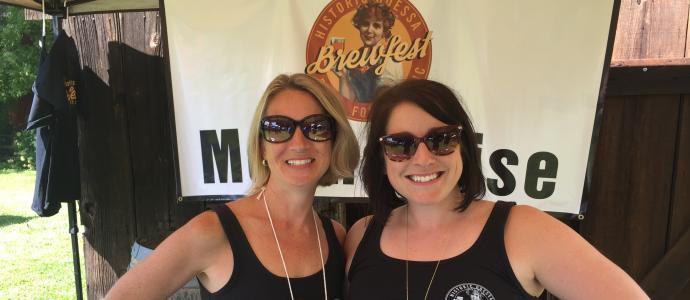 HOF Members Volunteer at Odessa Brewfest