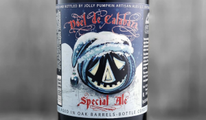 Noel de Calabaza beer bottle